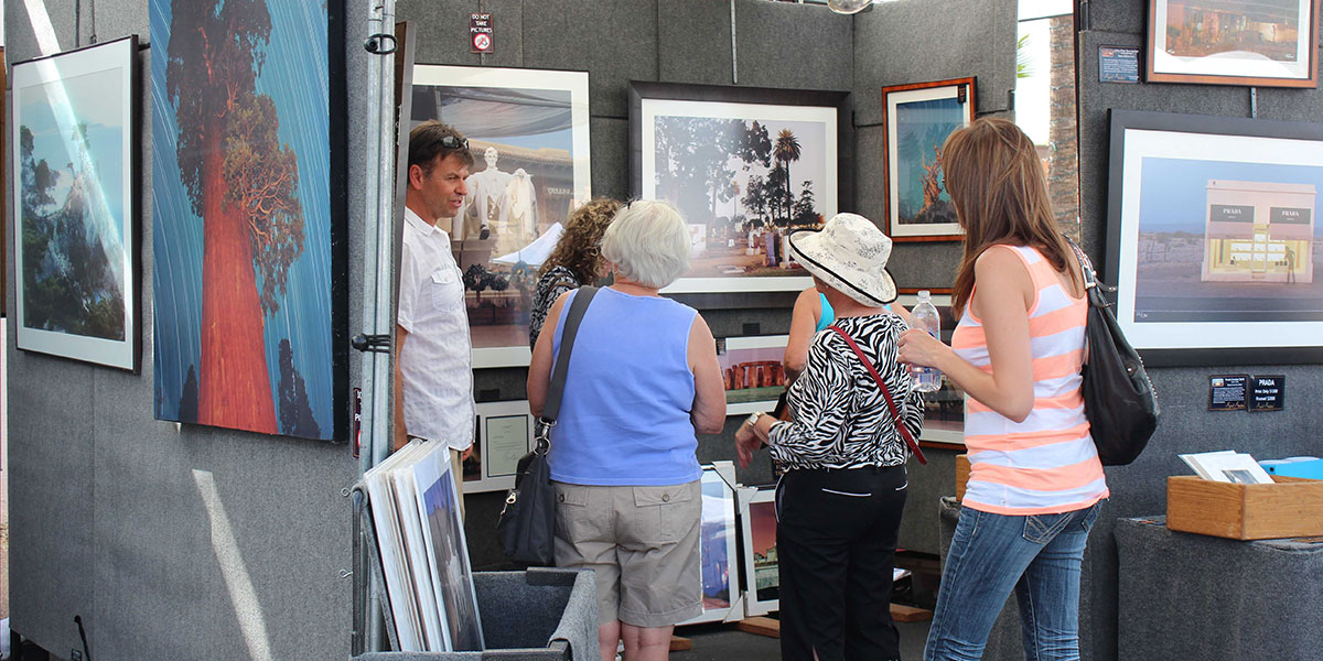 Stagecoach Village ~ Fine Art & Wine Festival